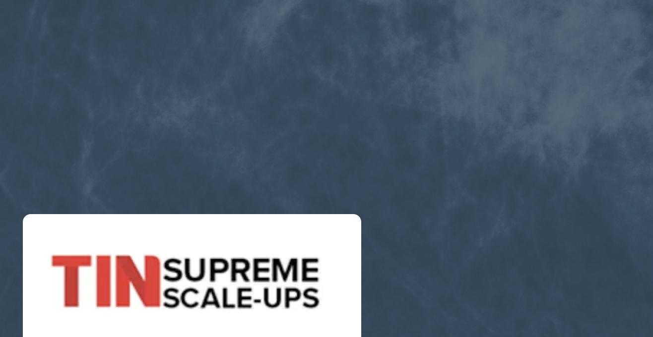 TIN Supreme Scale-Ups award